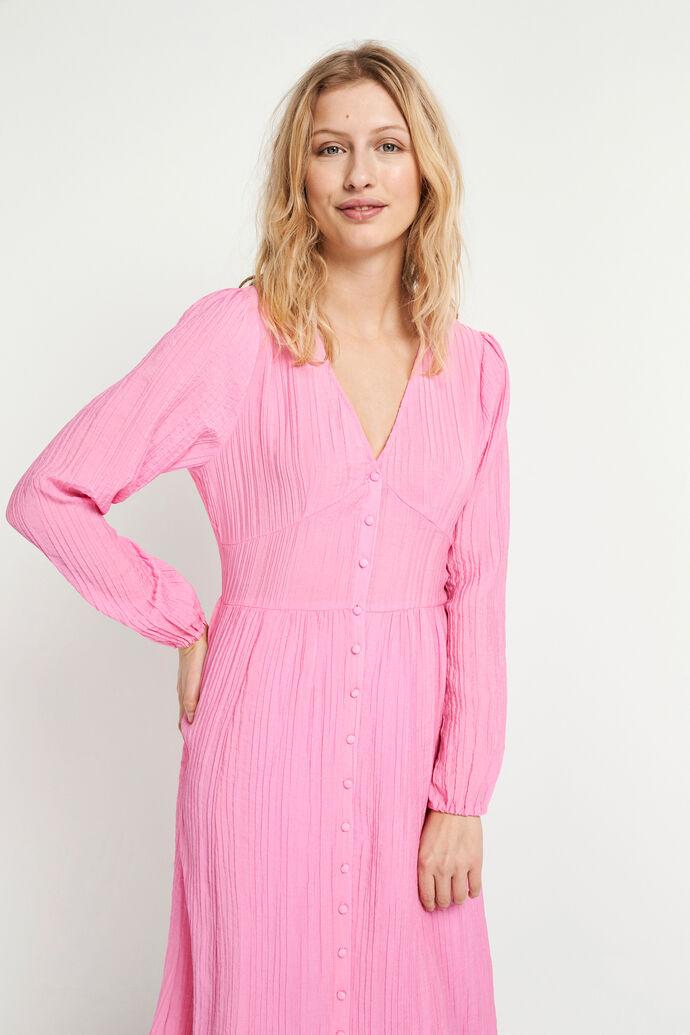ENTEN LS DRESS 6717, FUCHSIA PINK