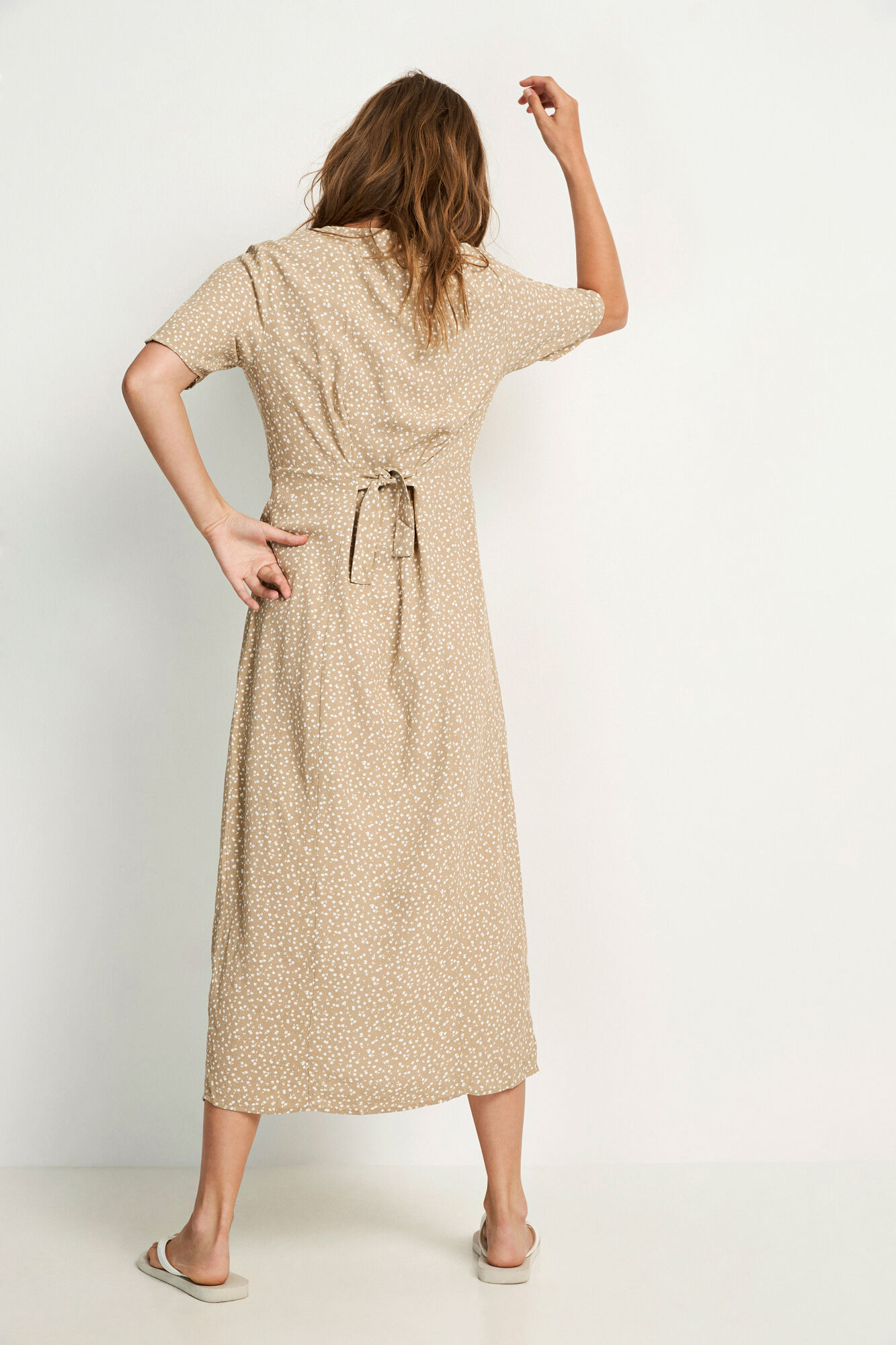 ENJOHN SS LONG DRESS AOP 6626