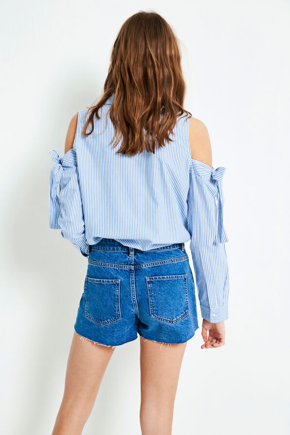 ENBRENDA DENIM SHORTS 6484, 90S MID BLUE