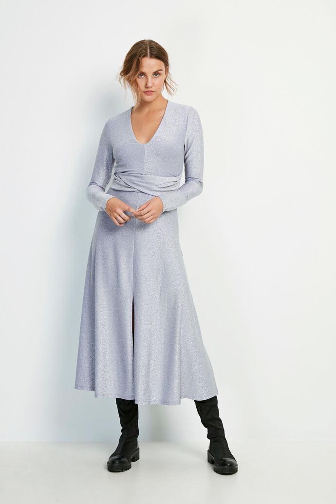 ENLUMI LS DRESS 5316, VIOLET GLITTER