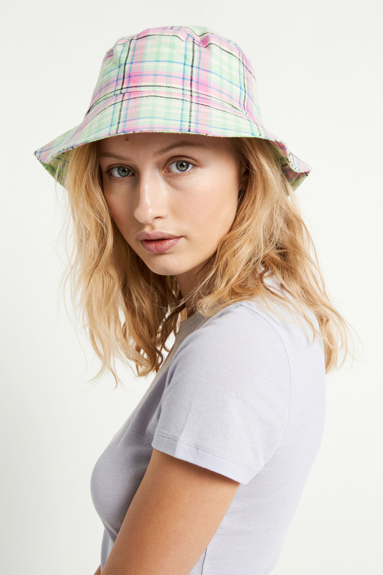 ENRETNA BUCKET HAT 6719, RETNA CHECK
