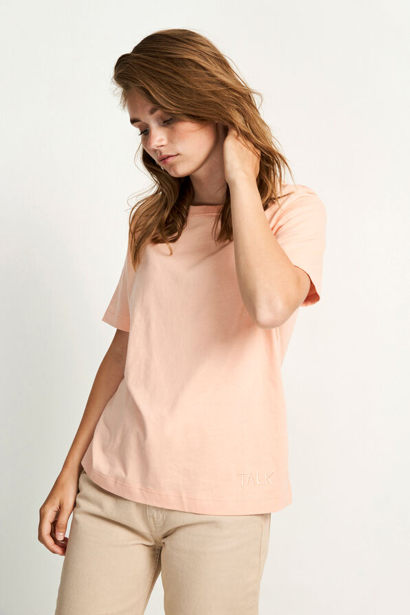 ENTALK SS TEE 5310, CORAL PINK