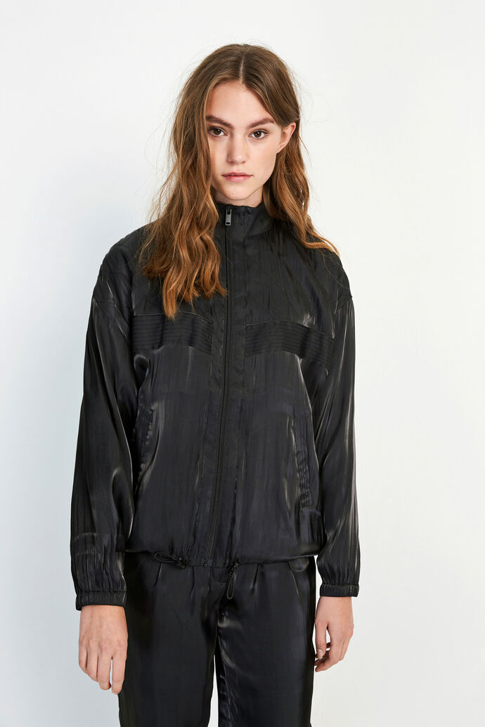 ENOPAL JACKET 6686, SHINY BLACK