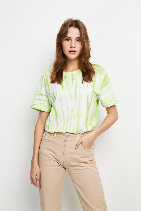 ENBEVERLY SS TEE TD 5309, TD LIME PUNCH