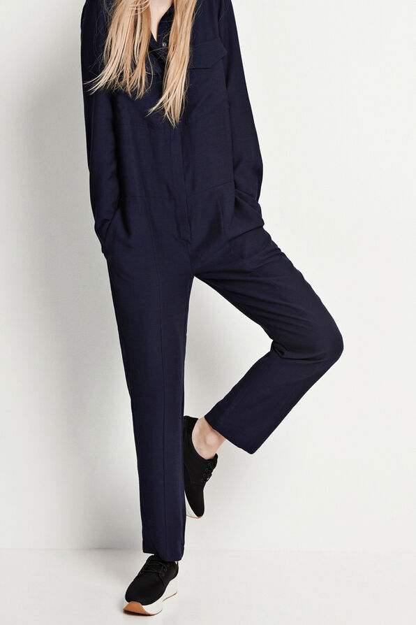 CREW LS JUMPSUIT 6435, NEW NAVY