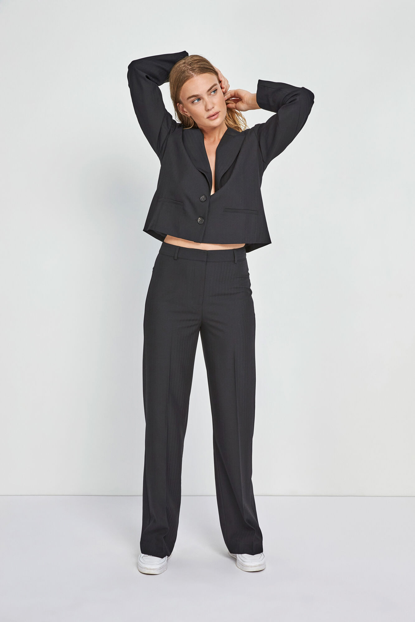 ENSMITH PANTS 6726, BLACK
