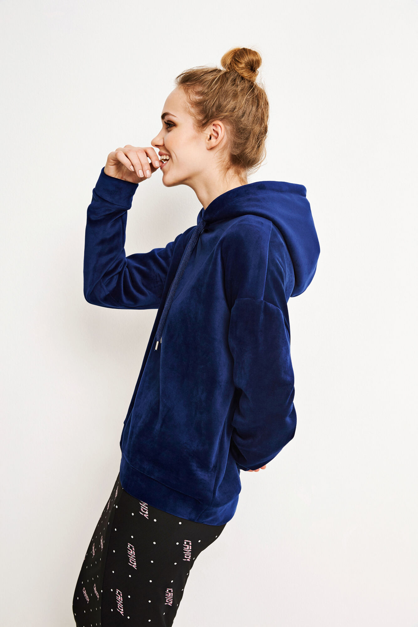 ENFLUFFY LS HOODIE 5960, NEW NAVY