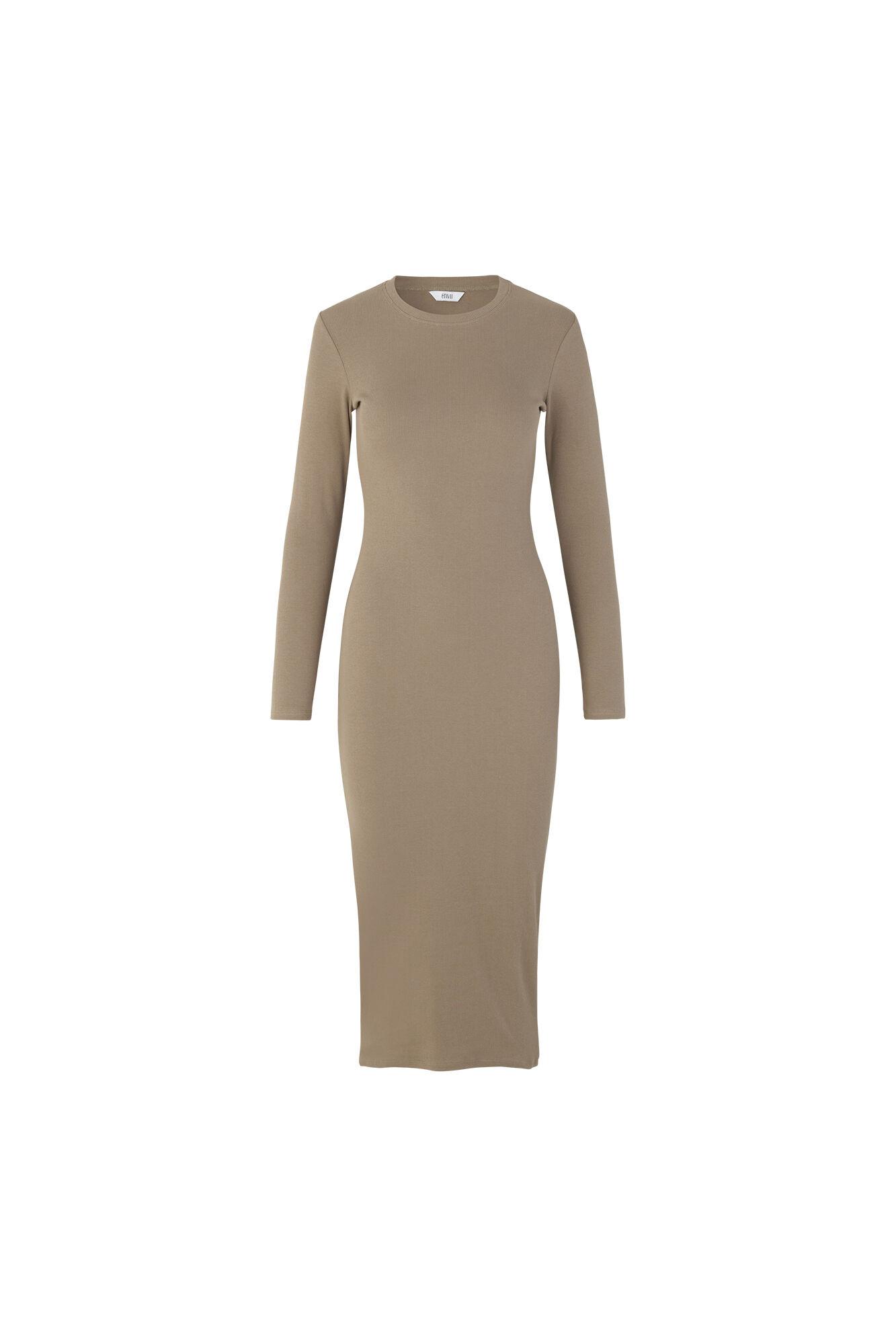 ENALLY LS DRESS 5314, SEPIA TINT
