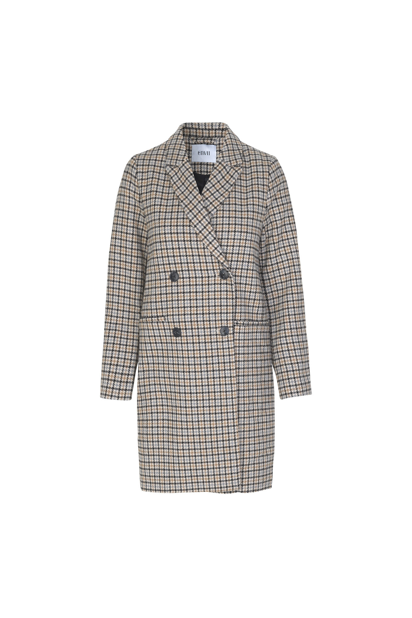ENELEANOR JACKET CHECK 6536