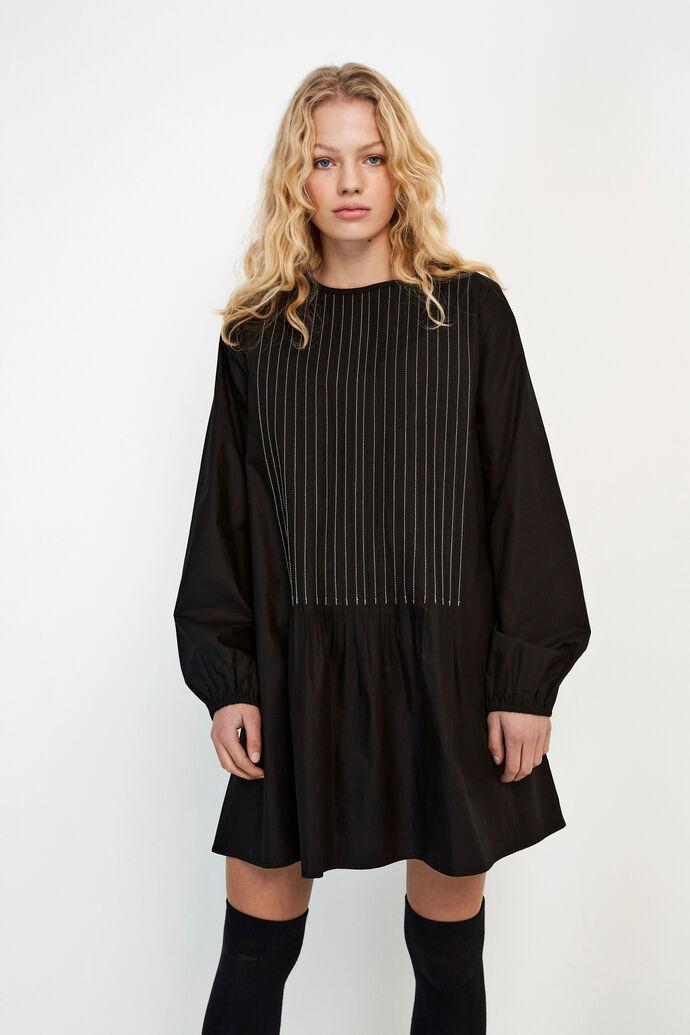 ENTOPAZ LS SHORT DRESS 6691, BLACK