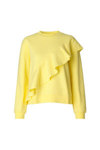 ENSODA LS SWEAT 5899, YELLOW CREAM