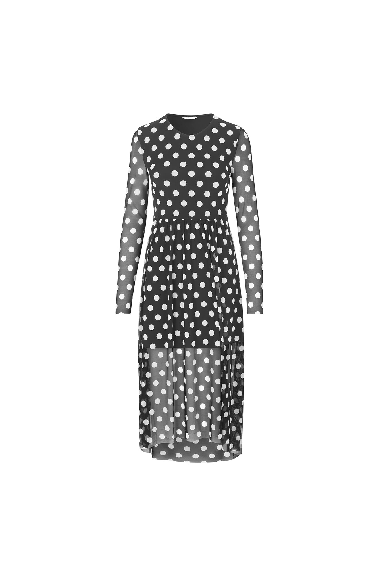 ENWILDER LS DRESS AOP 5954