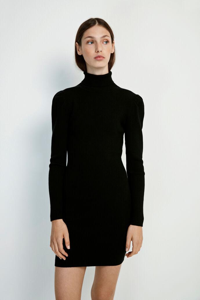 ENLIMETTA LS DRESS 5121, BLACK