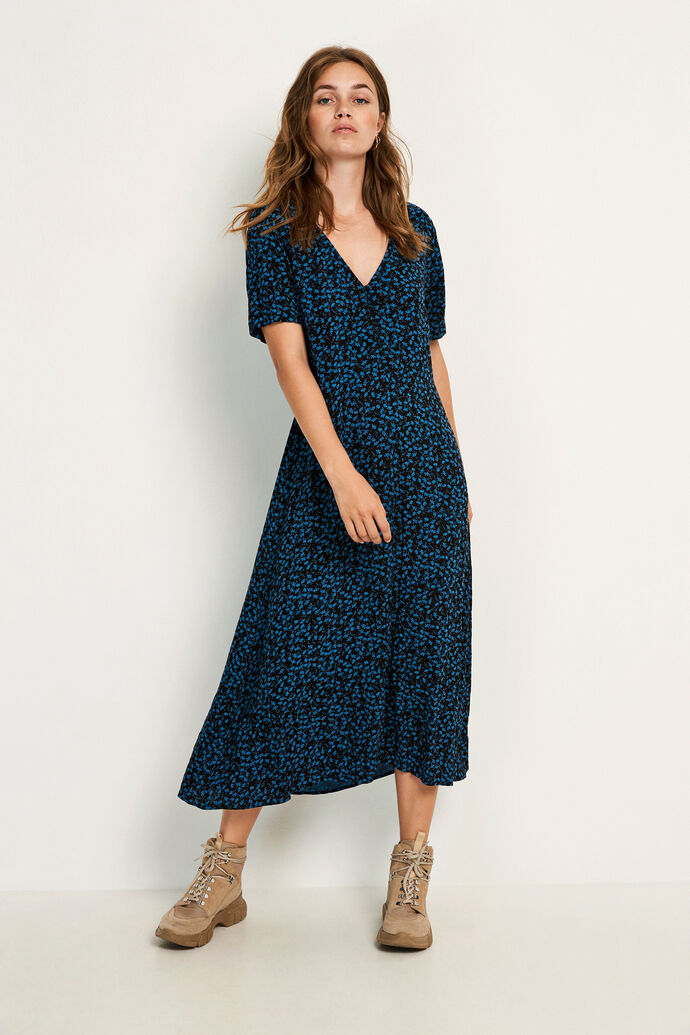 ENSOHO SS DRESS AOP 6642