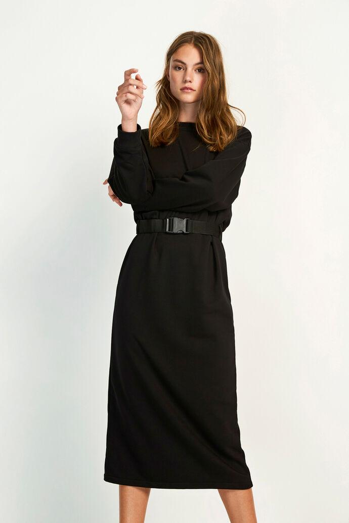 ENASH LS DRESS 5984, BLACK