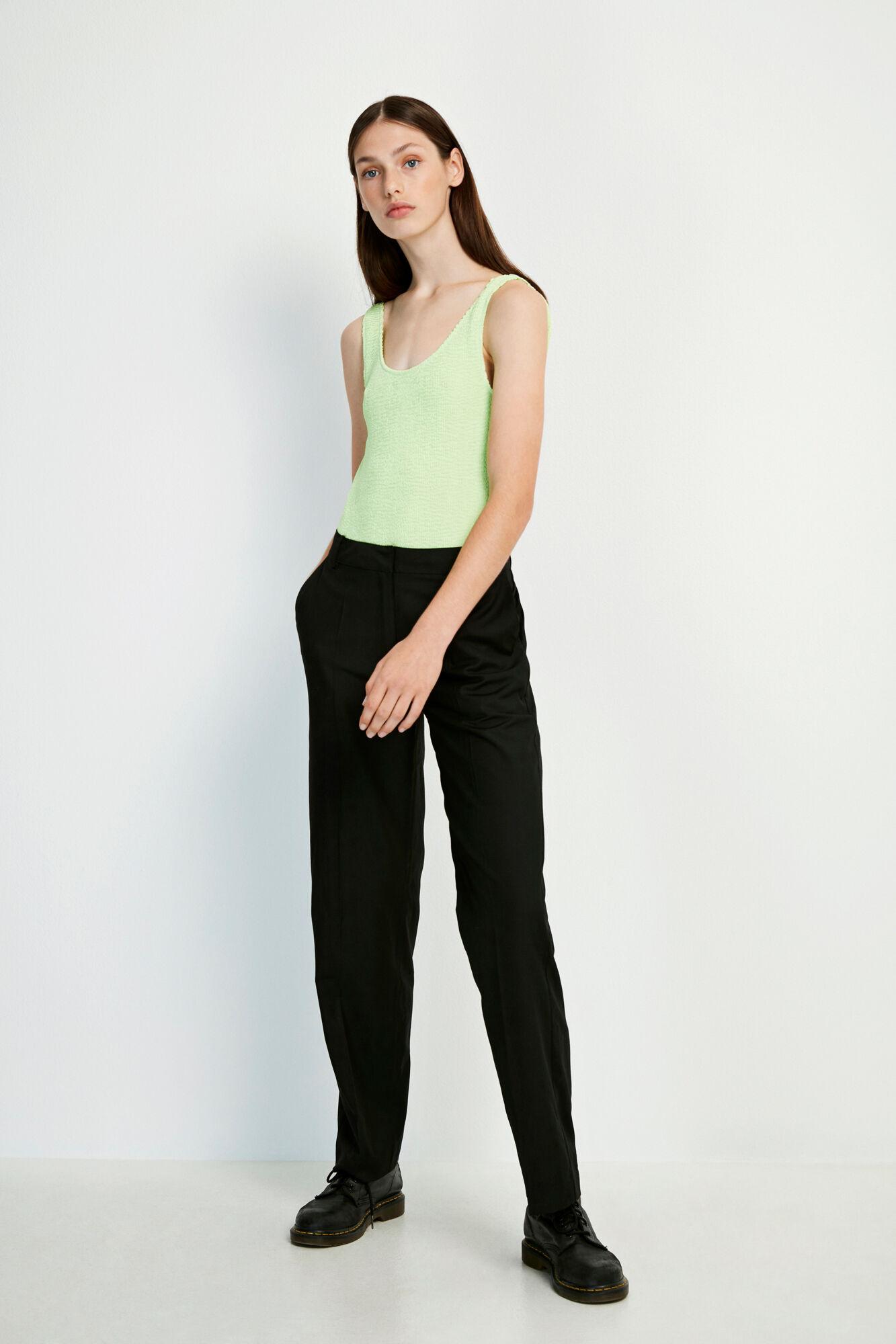 ENSNAP PANTS 6670, BLACK