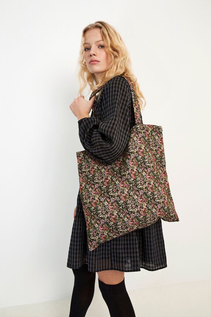 ENWRIGLEY TOTE BAG 6689, FLORAL COUCH