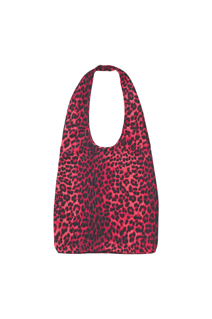 ENRICHMOND TOTE BAG AOP 5629, SCARLET LEO