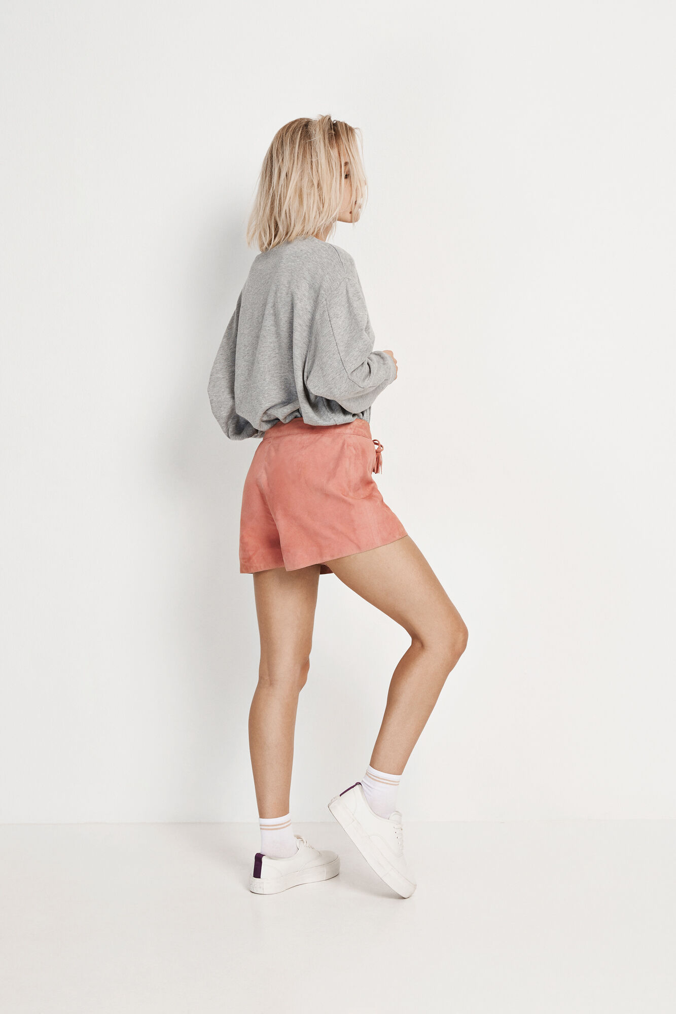 ENRODEO SUEDE SHORTS 6335