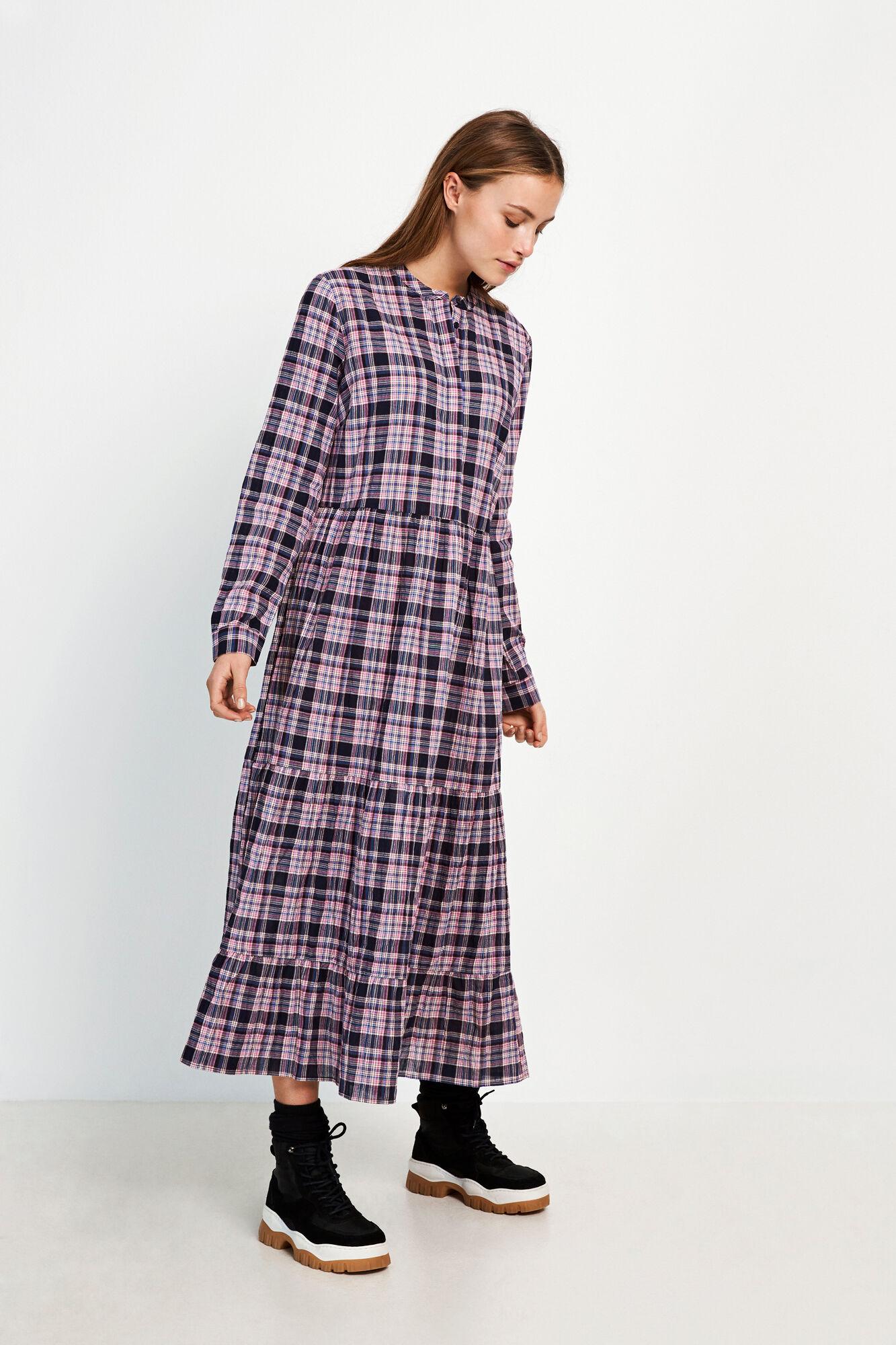 ENMAGIC LS MAXI DRESS 6713