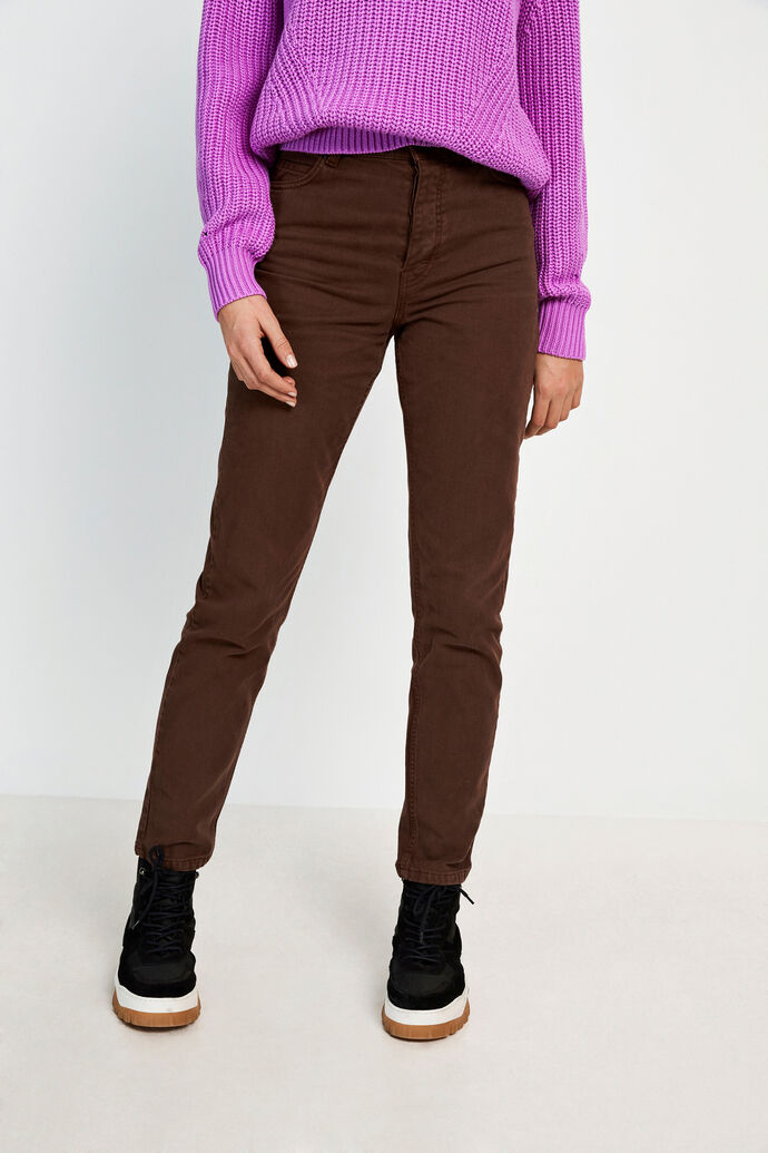 ENBRANDY JEANS 6522, CHICORY COFFEE