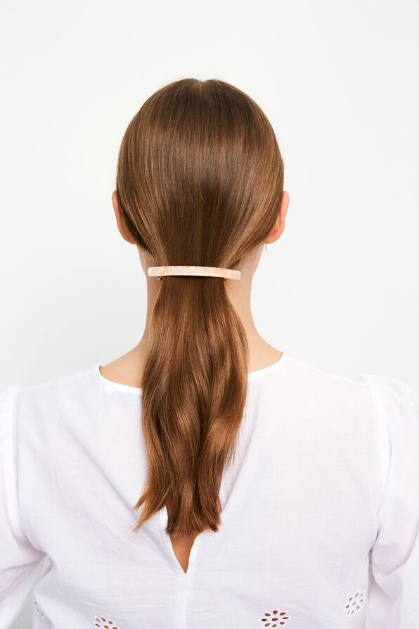 ENCHRISTA HAIRCLIP, BEIGE MOSAKI