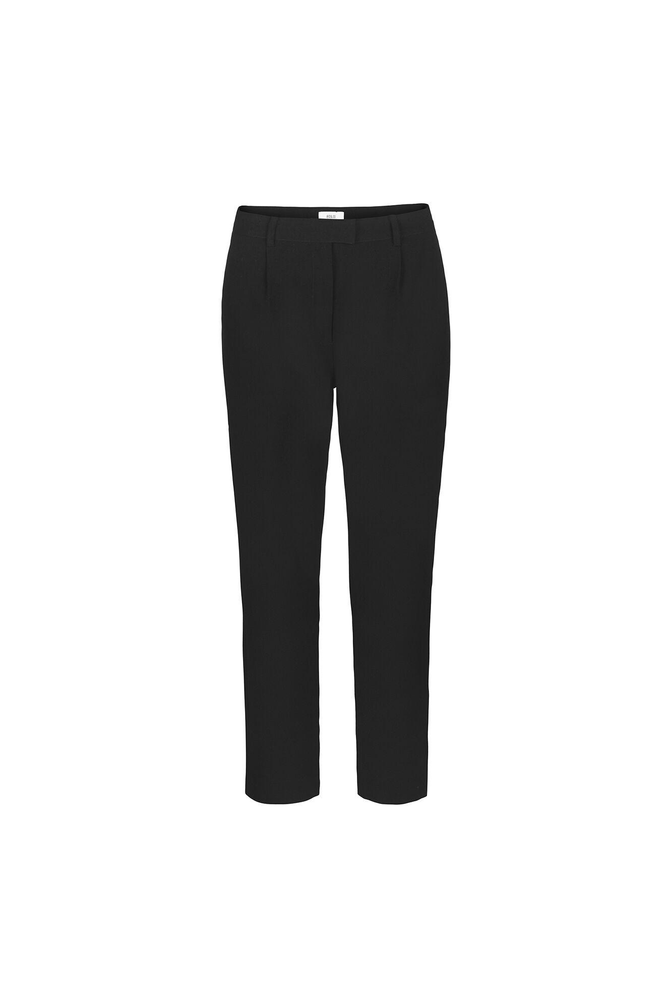 ENVALENCIA PANTS N 6390, BLACK