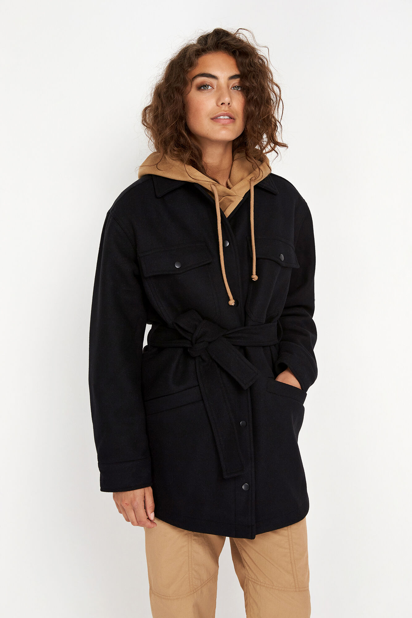 ENPORTLAND JACKET 6792, BLACK