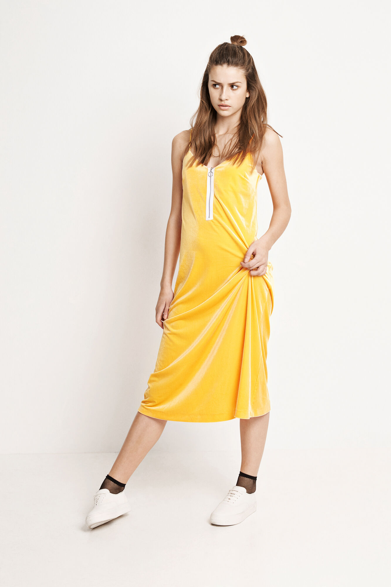 ENREGINA SL DRESS 5912, RADIENT YELLOW