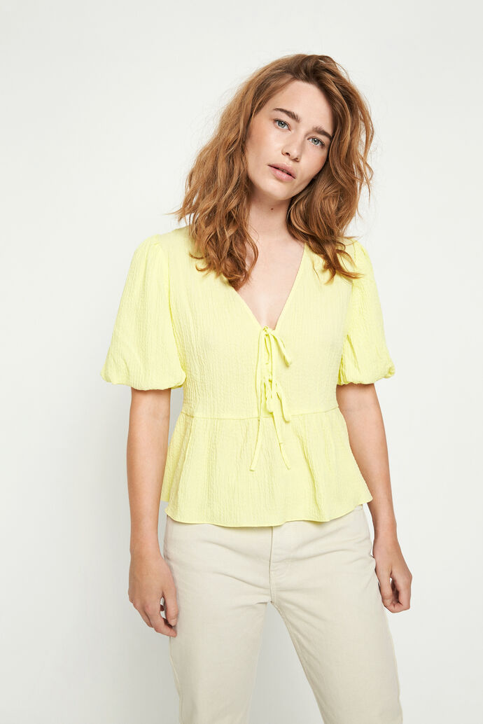 ENFIREBIRD SS TOP 6737, PALE LIME YELLOW
