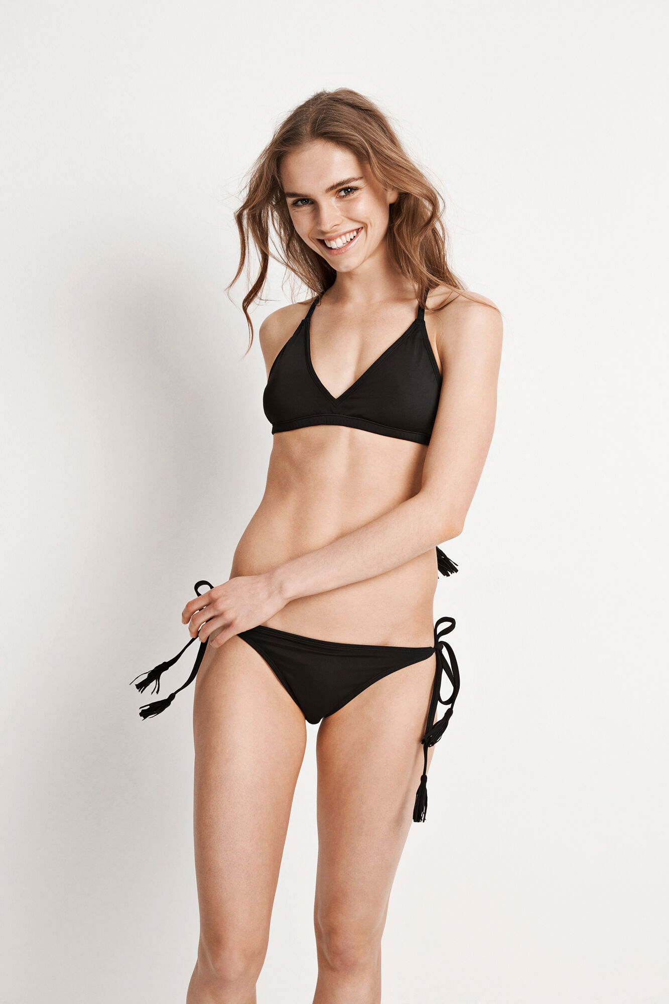 ENIBIZA SWIM BRA 5782, BLACK