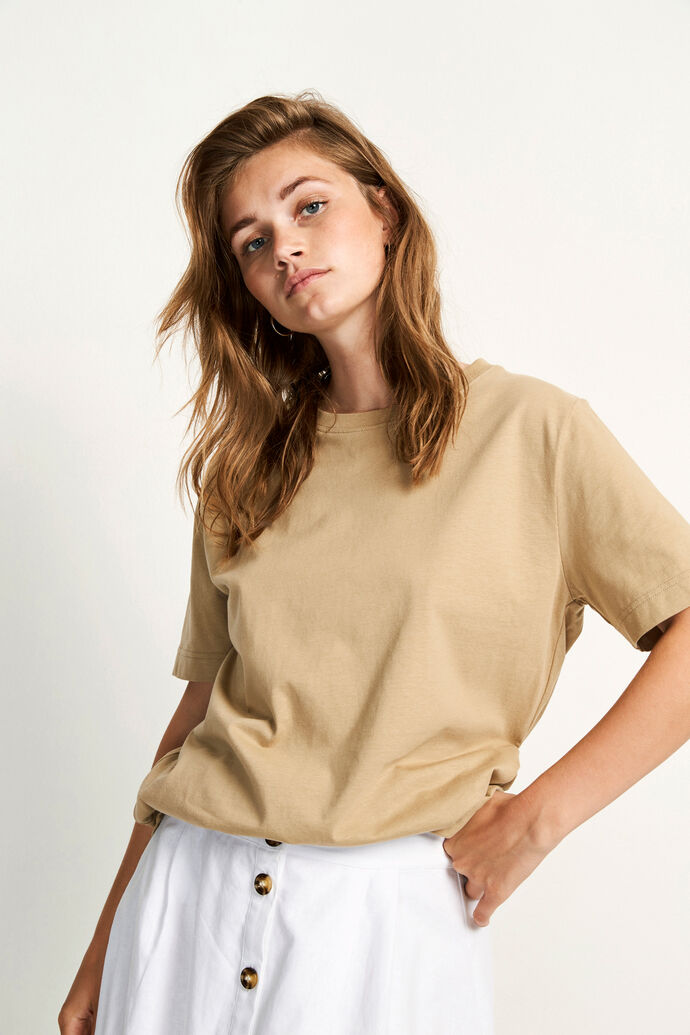 ENBEVERLY SS TEE 5310, TWILL