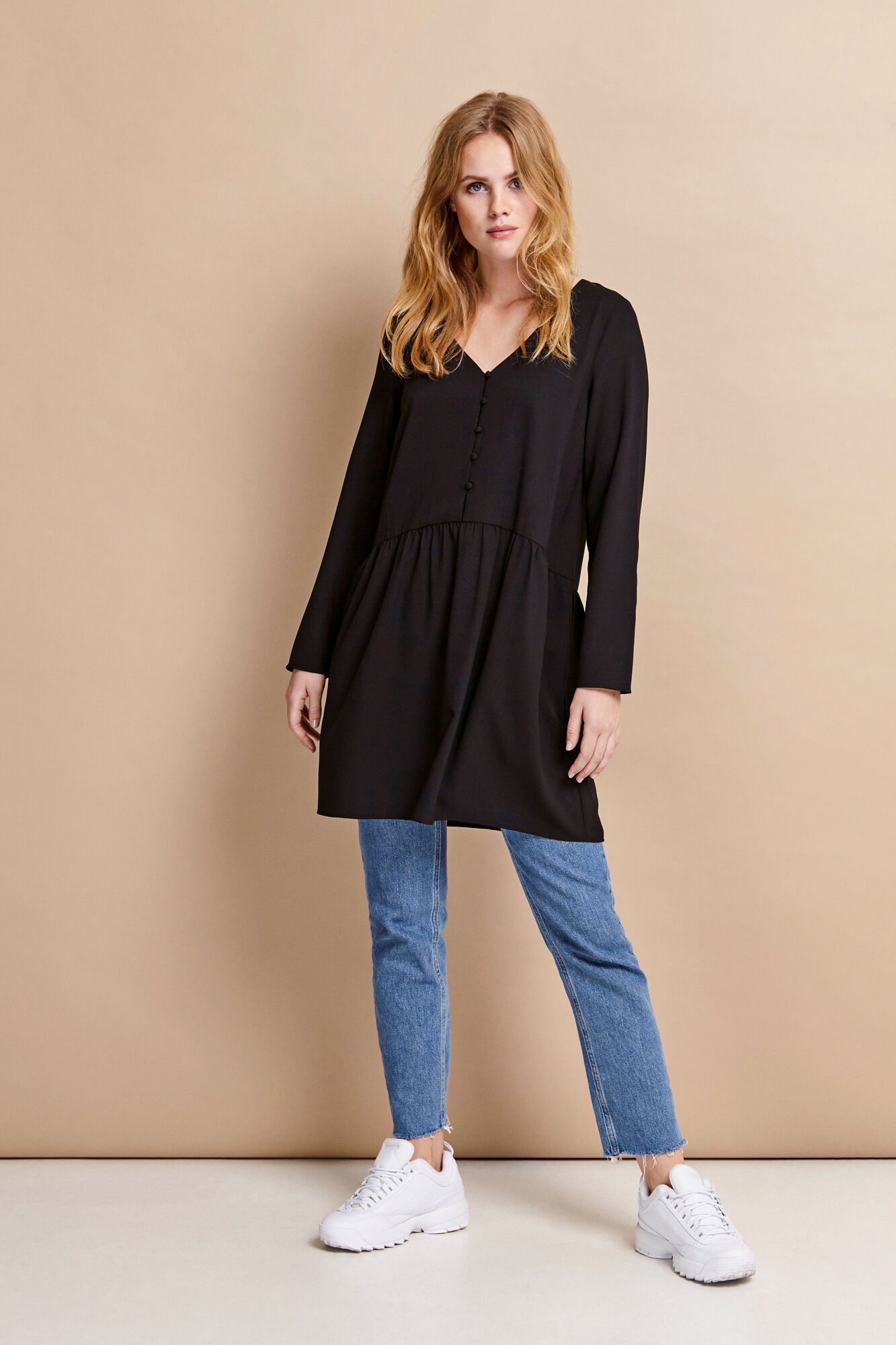 ENSERRA LS V-N DRESS 6444