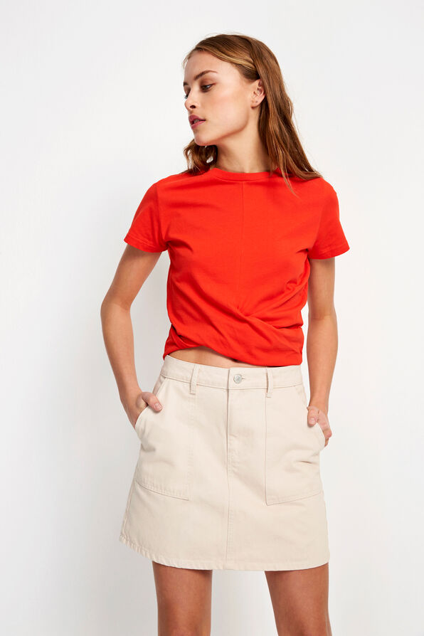 ENBREEZE SS TEE 5867, FIERY RED
