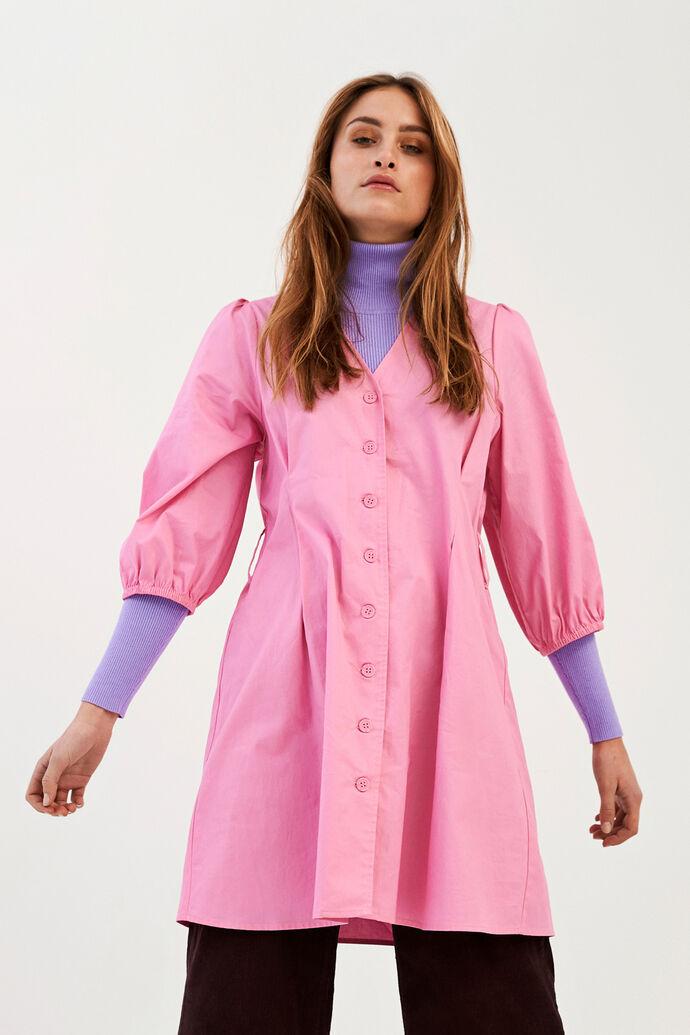 ENDENA 3/4 DRESS 6712, FUCHSIA PINK