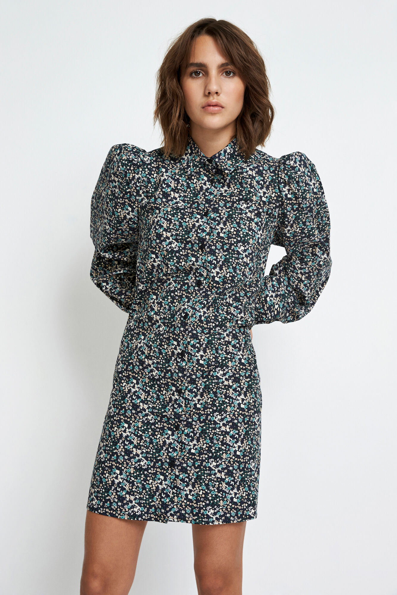 ENGULDBERGS LS DRESS AOP 6796, CPH SPRING