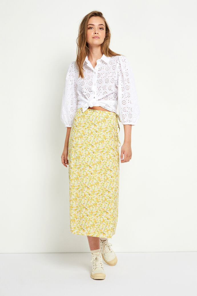 ENCORNELIA SKIRT AOP 6696, WATEREDGE FLOWER
