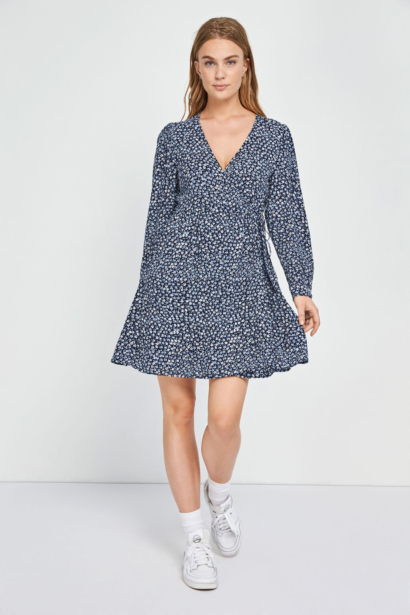 ENSALVATION LS DRESS AOP 6642, WILD FLOWER