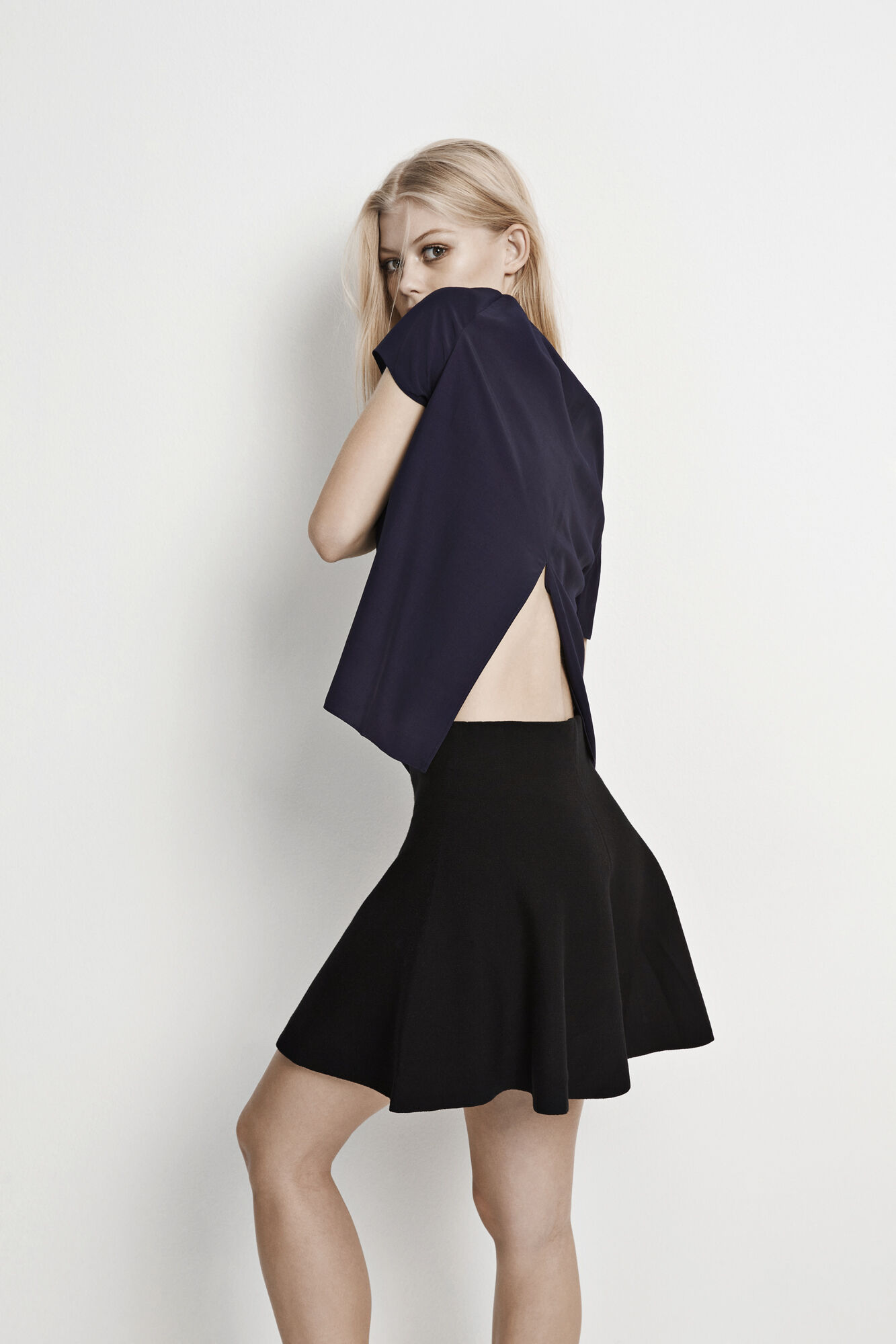 TIRE SS CONTRAST TOP 6431, NEW NAVY