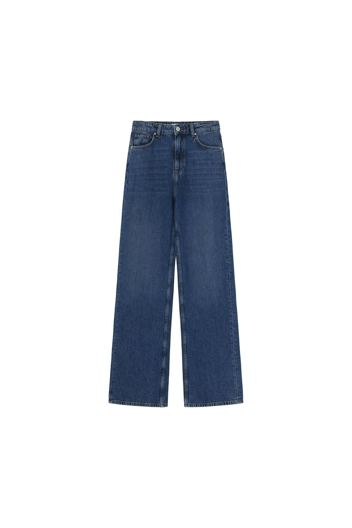 ENBREE JEANS 6801, WORN DARK BLUE