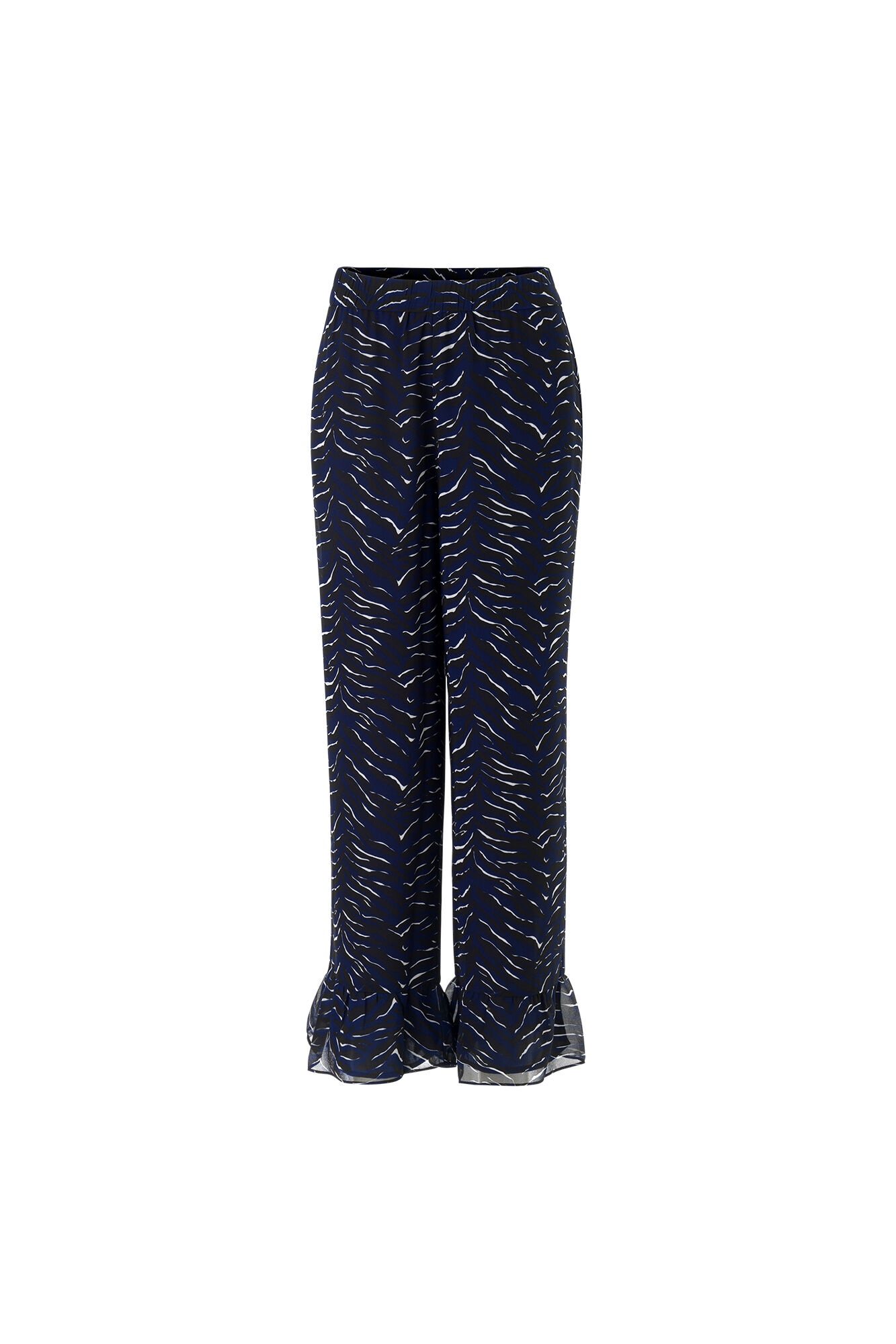 ENASPEN PANTS AOP 6395, NAVY TIGER AOP