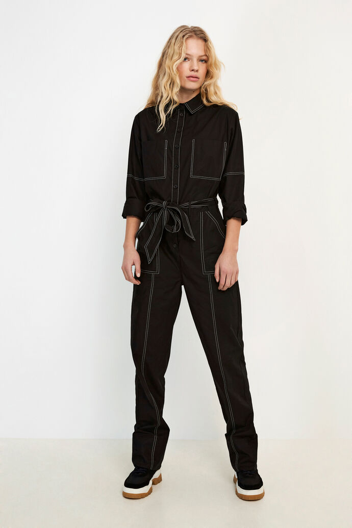 ENTOPAZ LS JUMPSUIT 6691, BLACK