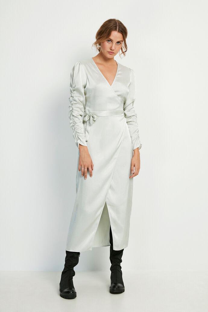 ENBIANCA LS DRESS 6613, CHAMPAGNE SHINE