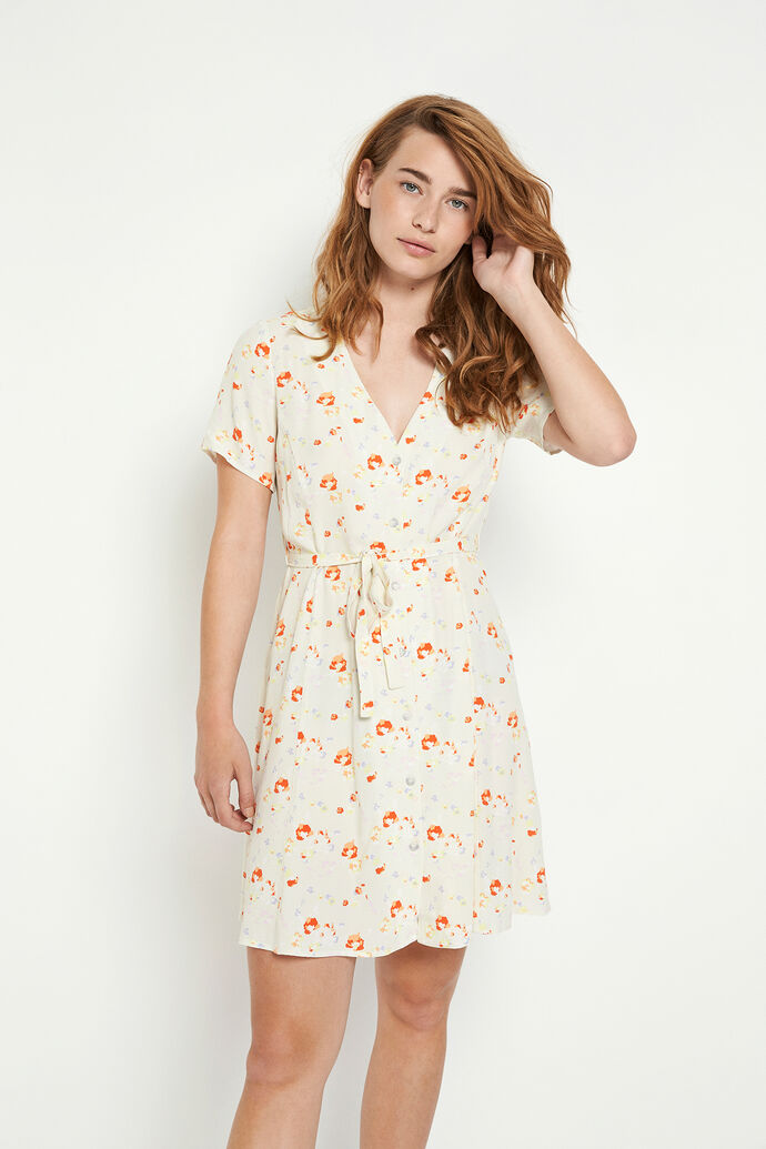 ENFAIRFAX SS DRESS AOP 6696