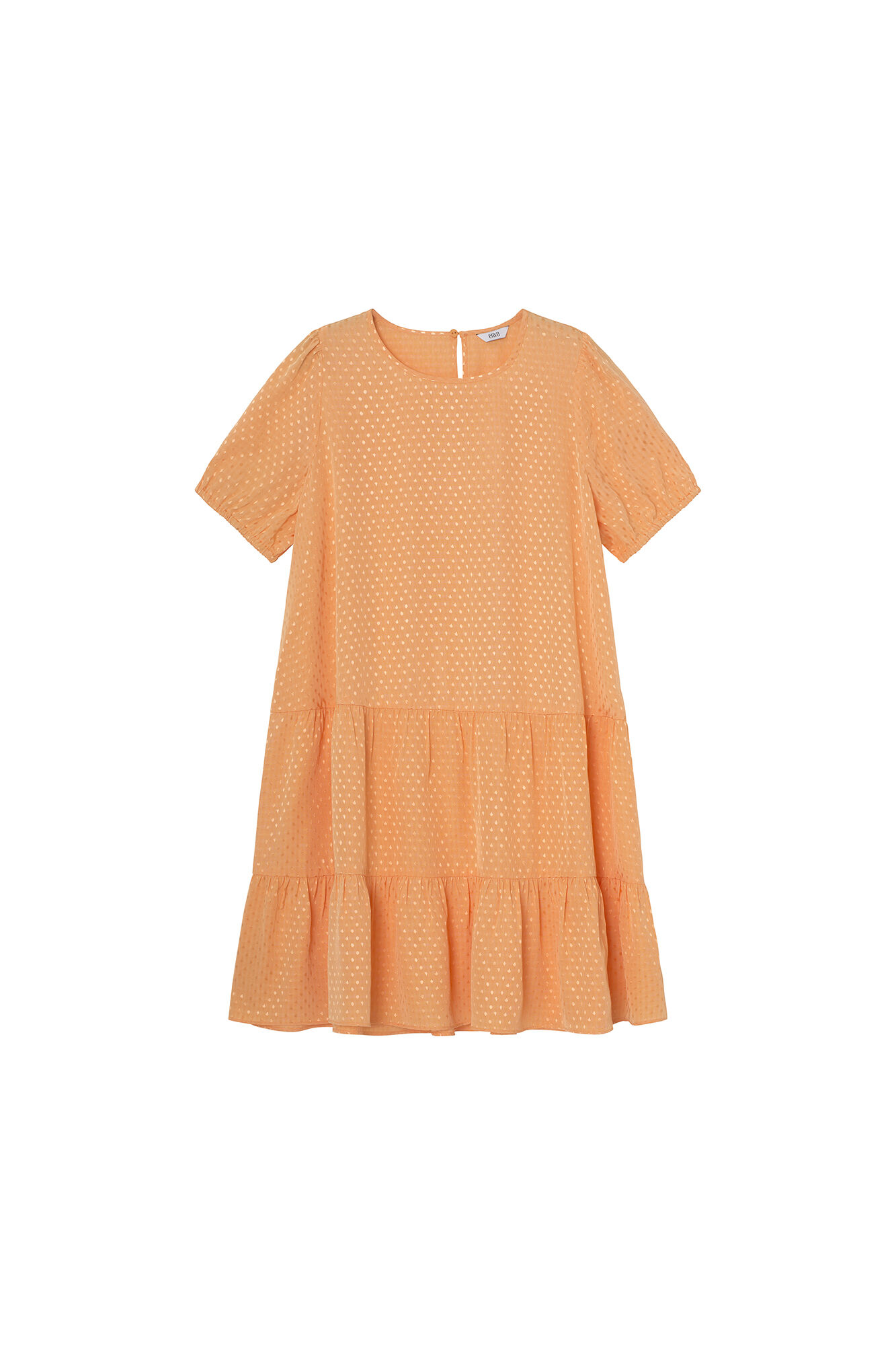 ENAMBRE SS DRESS 6639, SALMON BUFF