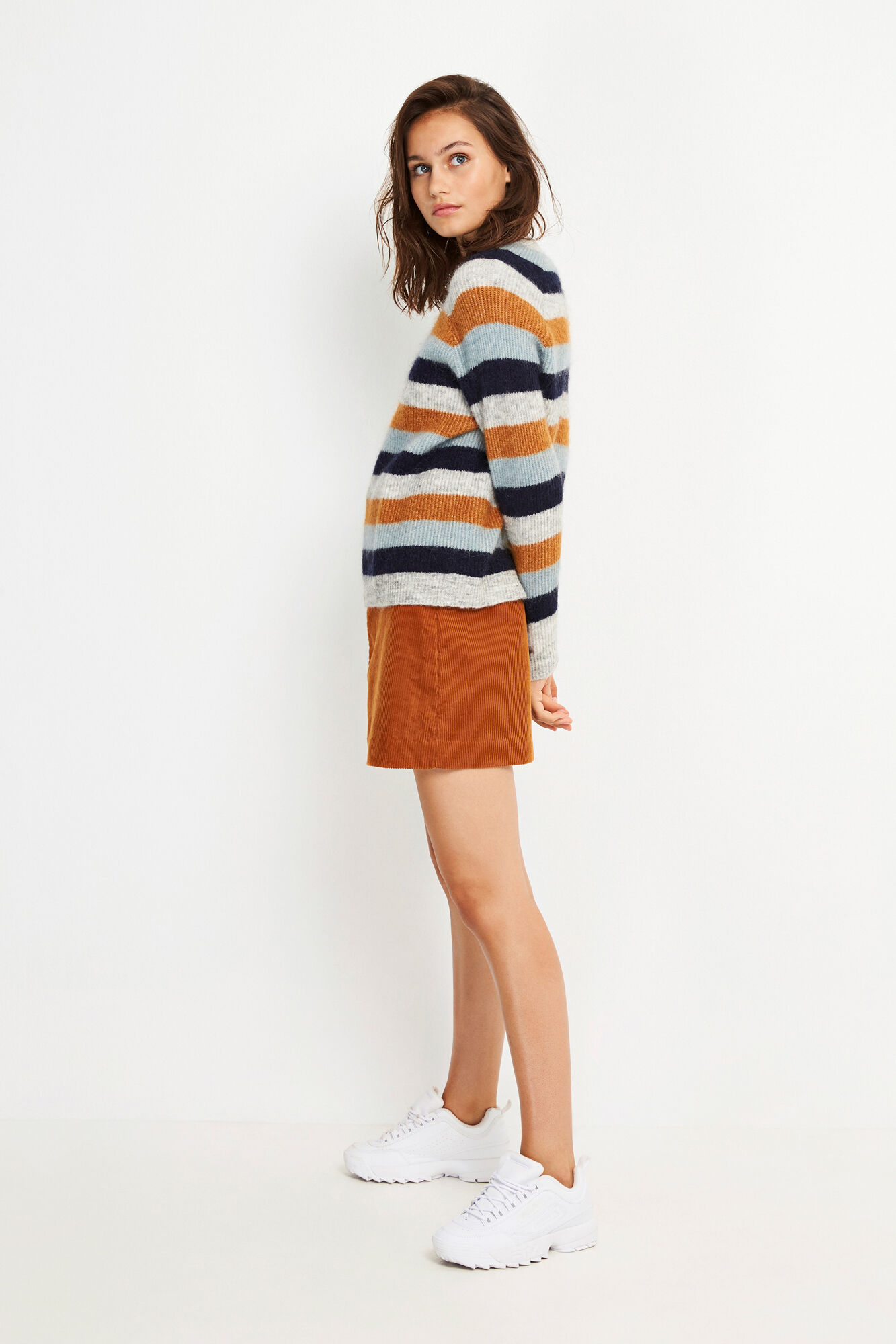 ENBOBO KNIT MULTI STRIPE 5125