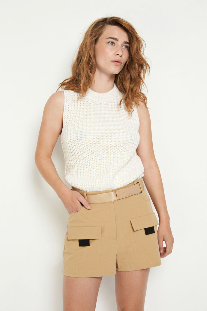ENSPARTACUS SHORTS 6735, TRAVERTINE