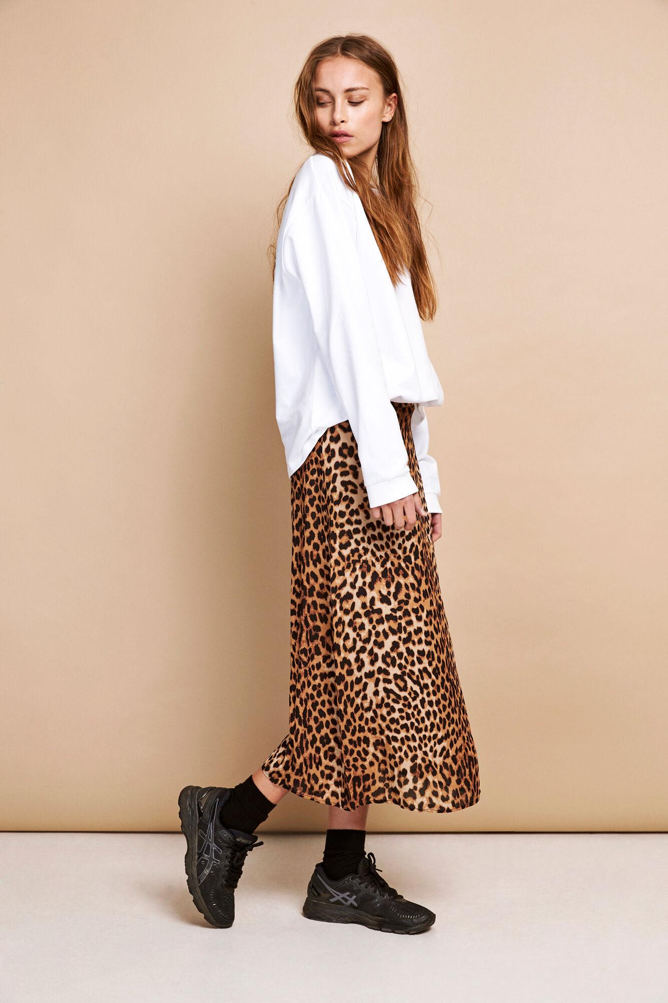 envii leopard nederdel