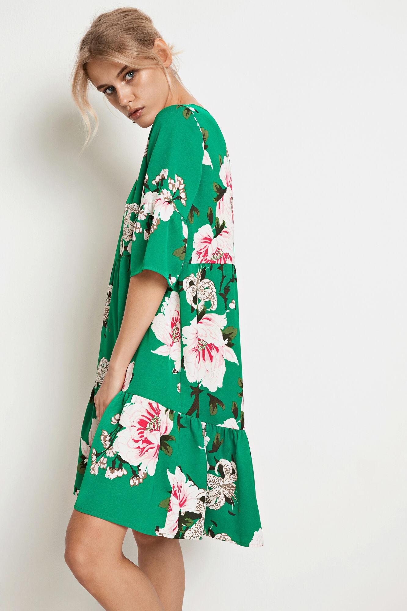 ENMOANA 3/4 DRESS AOP 6468
