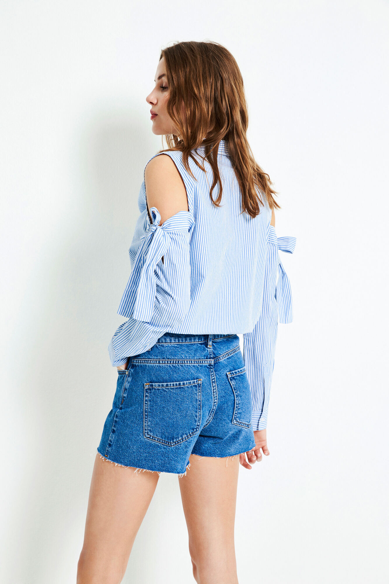 ENBRENDA DENIM SHORTS 6484
